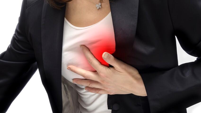 Infarctus chez la femme : les symptômes qui doivent alerter