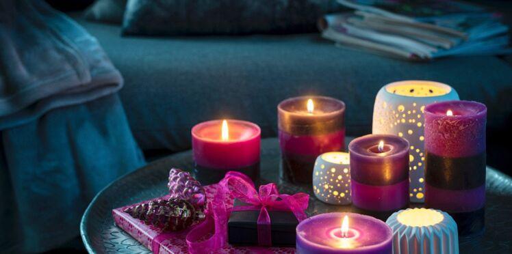 Bricolage de Noël : une bougie parfumée à l'orange à faire soi-même