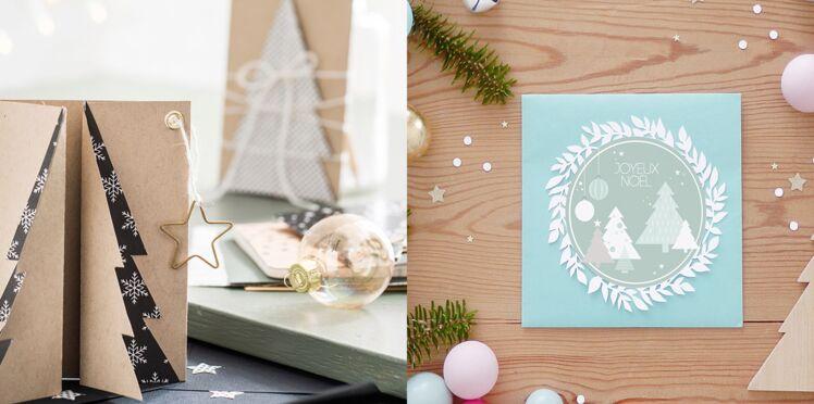 Bricolage de Noël et du Nouvel an : 3 cartes de voeux à fabriquer soi-même