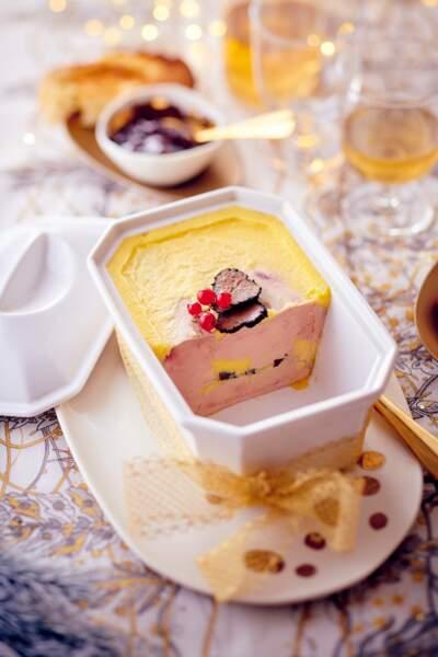 Terrine de foie gras truffé des Landes Hélène Darroze