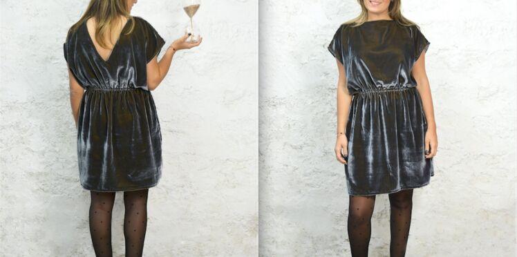 DIY Couture : une robe facile pour les fêtes