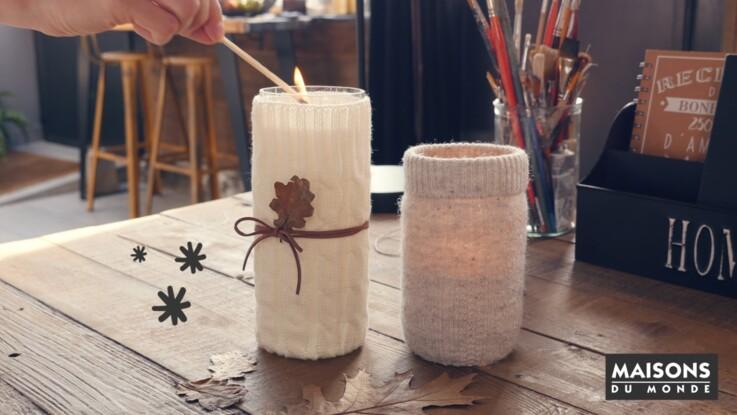 Bricolage de Noël: un lumignon facile et rapide