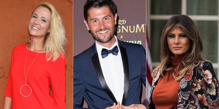 Photos - Elodie Gossuin, Christophe Beaugrand, Melania Trump... Découvrez les plus beaux (et les pires) sapins de Noël des stars