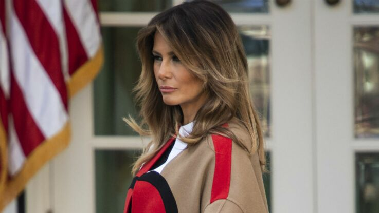 Photo - Melania Trump change de totalement de look et passe au blond platine