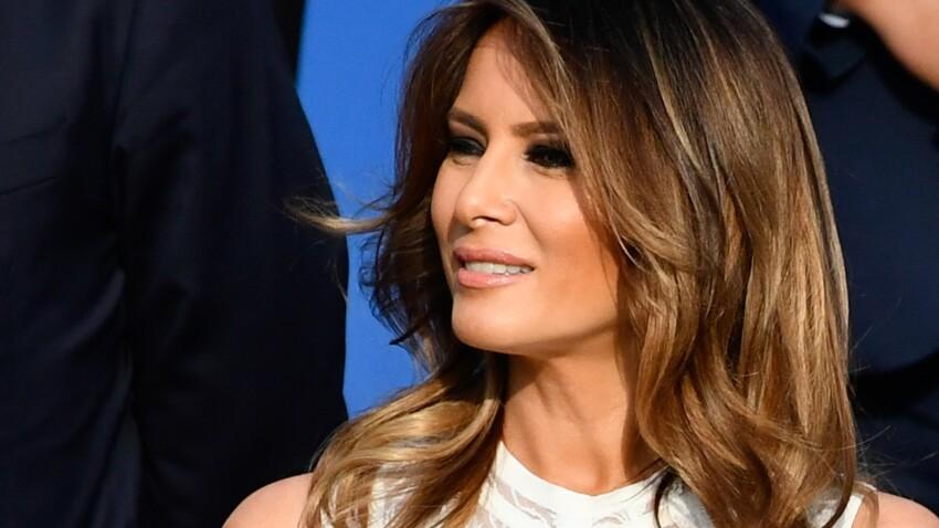 PHOTOS - Melania Trump : cette robe ultra-moulante qui fait tant parler