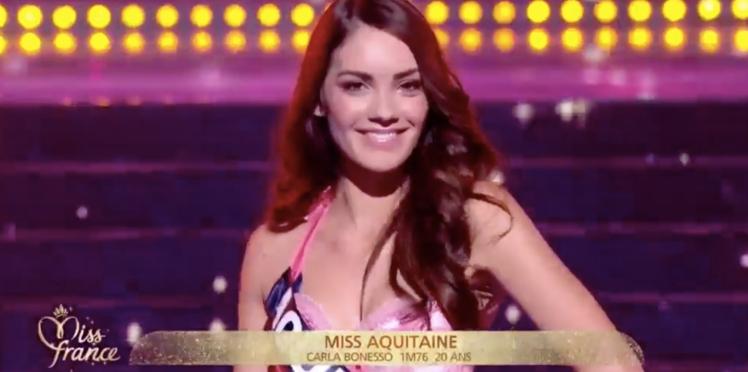 Miss France 2019 : des images nues des candidates diffusées, Carla Bonesso (Miss Aquitaine) réagit