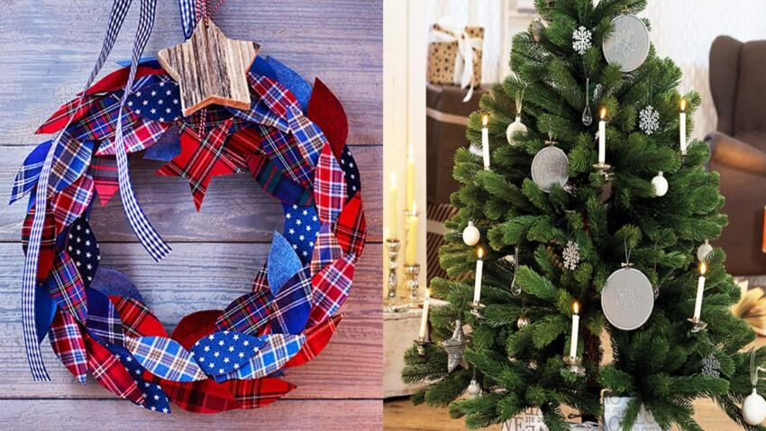 15 décorations de Noël à fabriquer en tissu