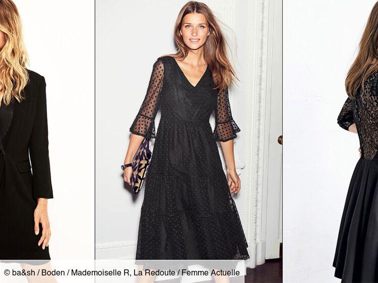 Robe Noire Top Des Modeles Les Plus Canons Pour Tous Les Styles Et Tous Les Budgets Femme Actuelle Le Mag
