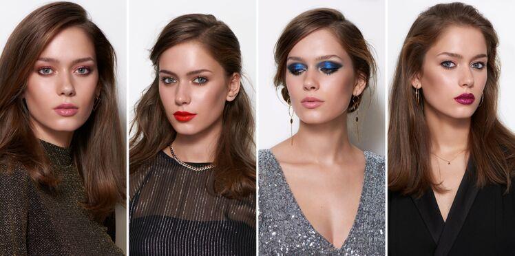 4 idées de make-up sublimes pour les fêtes