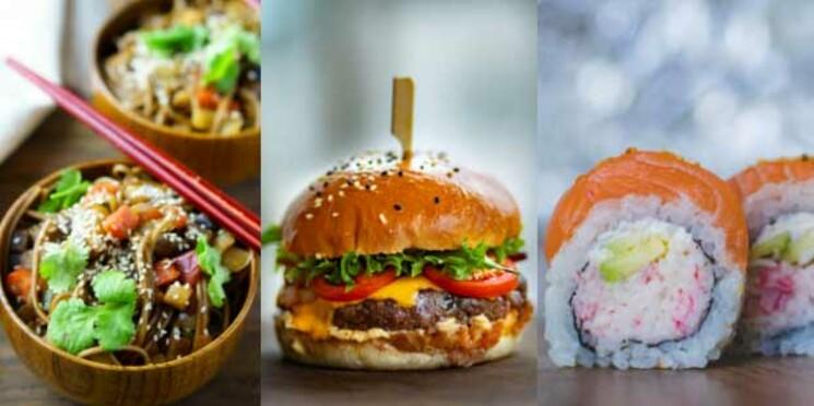 Les 20 plats les plus commandés au monde (et par ville)