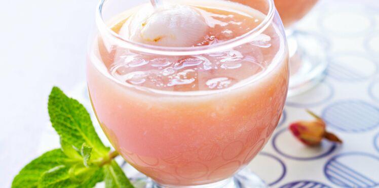Cocktail rose-litchi