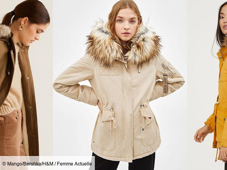 20 jolies parkas pour un hiver stylé bien au chaud ! : Femme