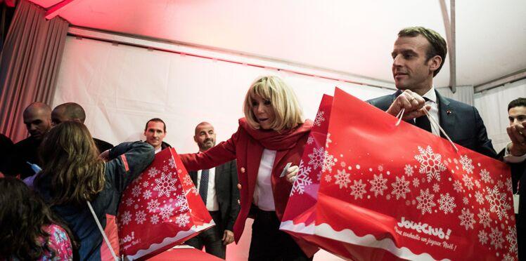 Photos - Brigitte et Emmanuel Macron : leurs invités surprenants au Noël de l'Elysée