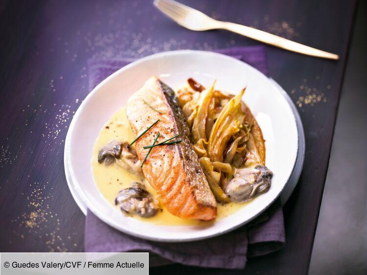Pavé de saumon et beurre blanc, huîtres et curcuma : découvrez les recettes de cuisine de Femme Actuelle Le MAG