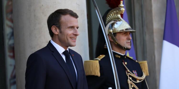 Emmanuel Macron : sa petite blague (sibylline) au Noël de l'Élysée