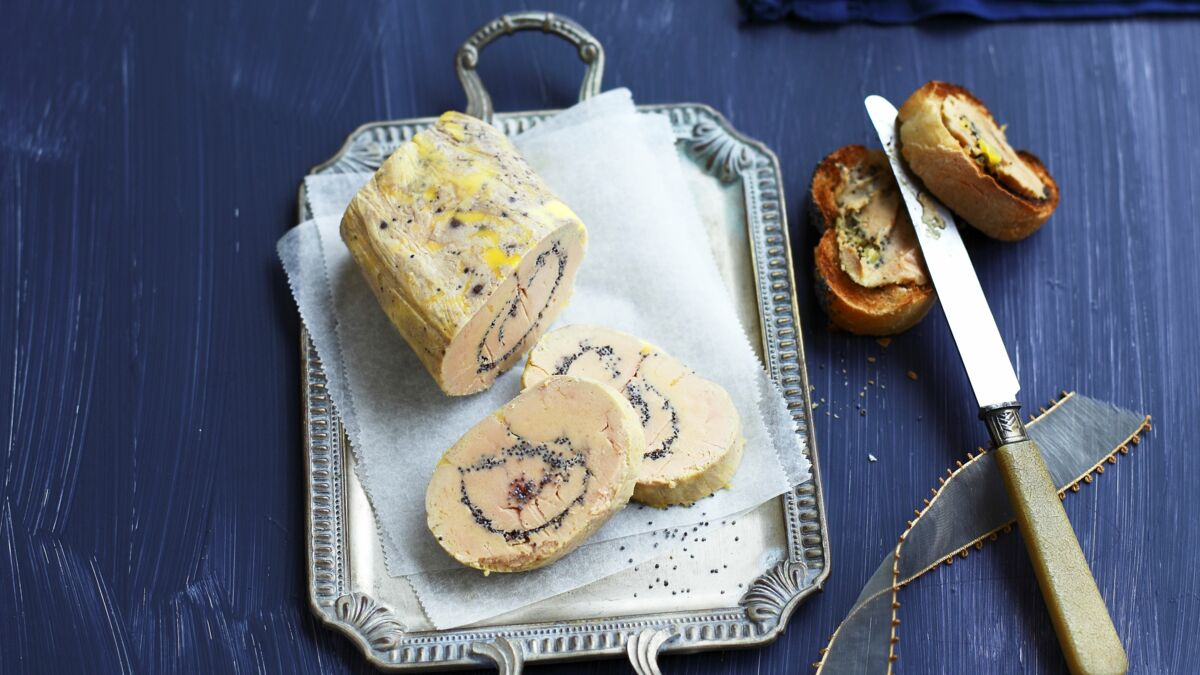 Terrine de foie gras au pavot