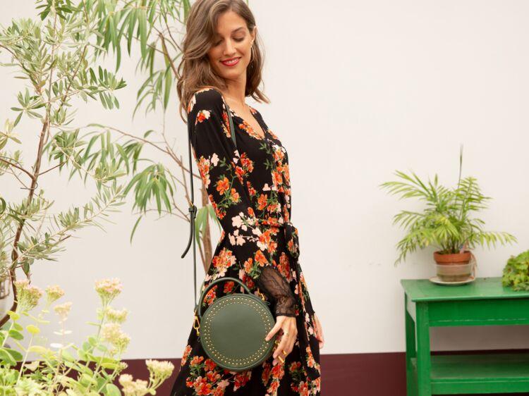 47a94d1acadcab Robes à fleurs : top des modèles pour un hiver bohème chic : Femme ...
