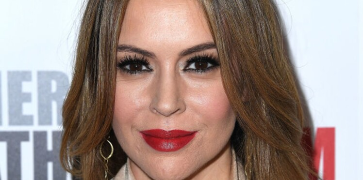 PHOTO : À 46 ans, Alyssa Milano pose sans make-up et elle est sublime