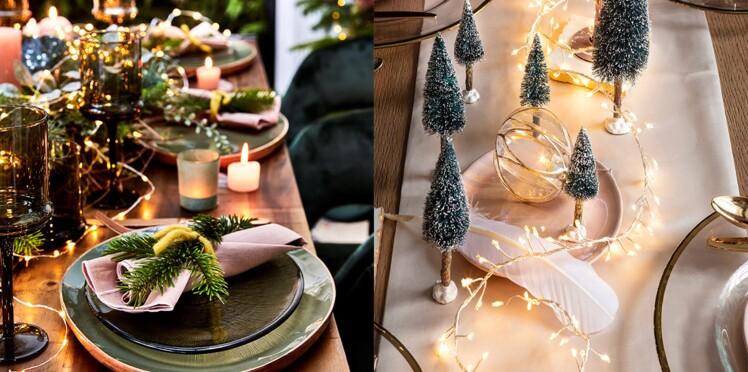 Une déco de table facile et rapide  pour le Jour de l'an ou pour Noël