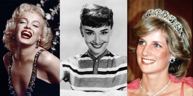 PHOTOS - Si Audrey Hepburn, Marylin Monroe ou Lady Di avaient succombé au botox...