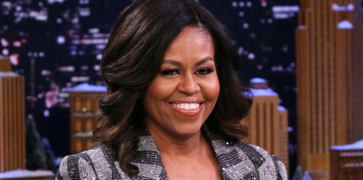 Michelle Obama : son look incroyable en cuissardes entièrement pailletées (love it !)