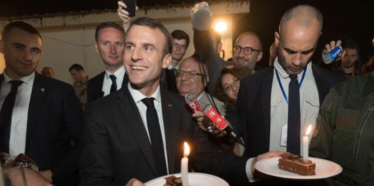 Photos - Emmanuel Macron : son repas de Noël avec une star… et sans Brigitte Macron