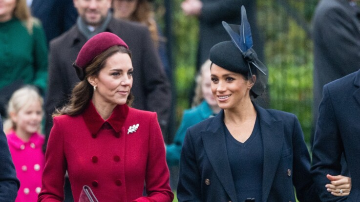 Photo - Kate Middleton et Meghan Markle : elles font taire les rumeurs en s'affichant ensemble