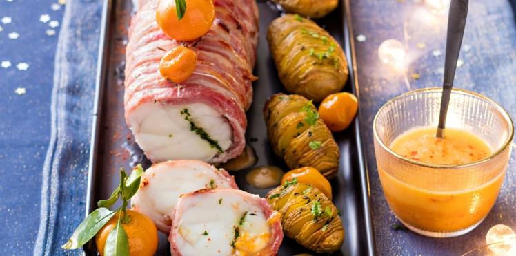 Rôti de lotte & pommes de terre suédoises