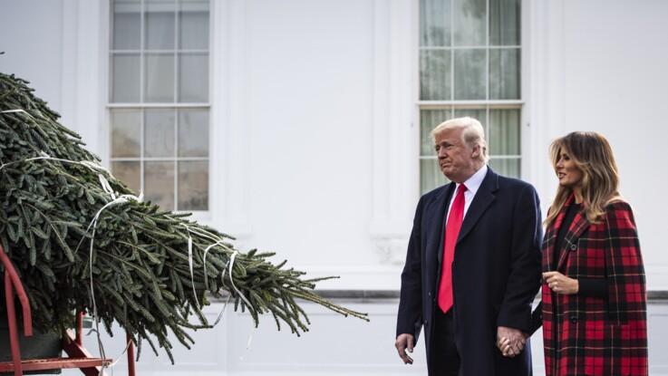 Melania Trump : son geste tendre pour son mari, le jour de Noël