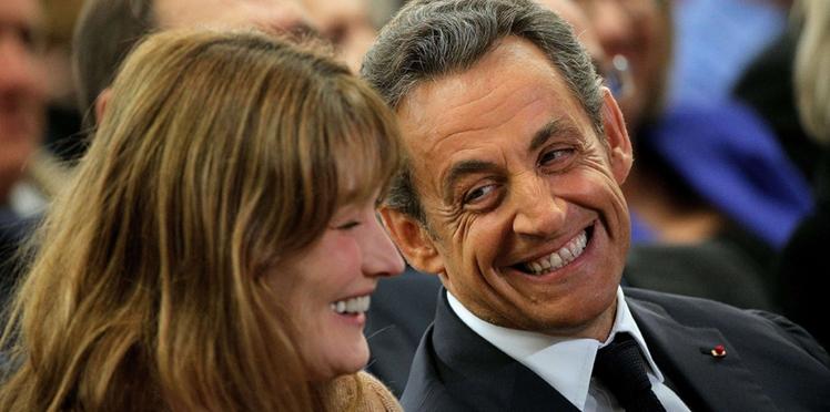 """Photo - La jolie déclaration d'amour de Carla Bruni à Nicolas Sarkozy et à sa """"petite barbe"""""""