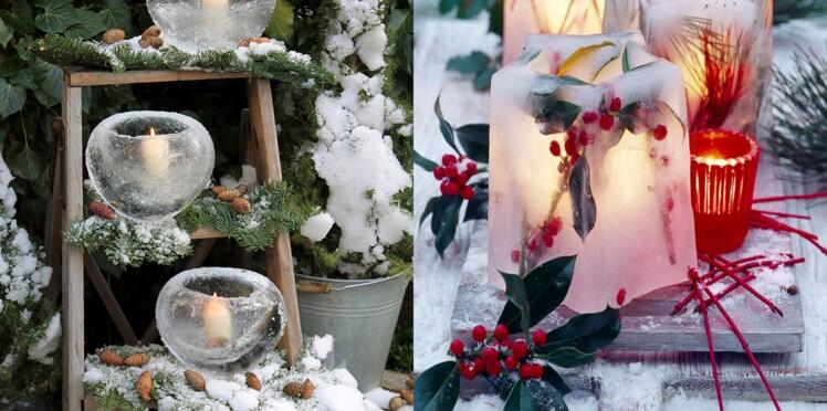 Déco de jardin : 4 idées en glace pour un hiver féérique : Femme ...