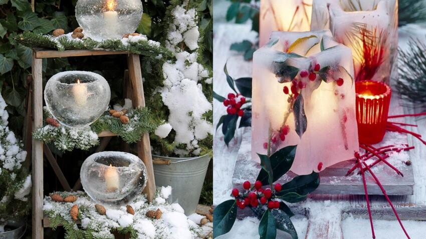 Déco de jardin : 4 idées en glace pour un hiver féérique