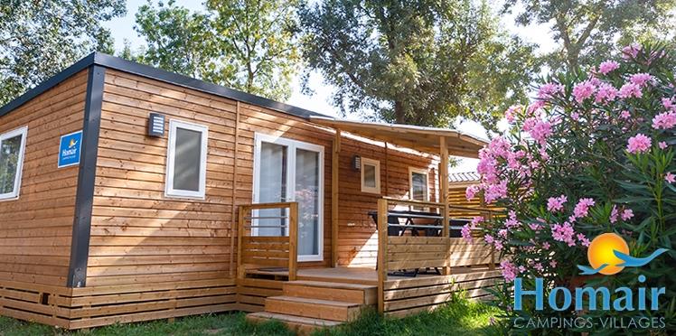 Gagnez 1 séjour d'une semaine dans un camping village Homair