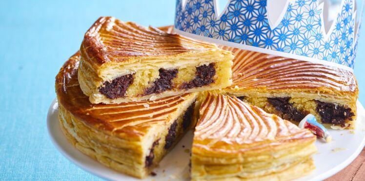Galette des rois au Nutella bicolore : la recette gourmande en vidéo