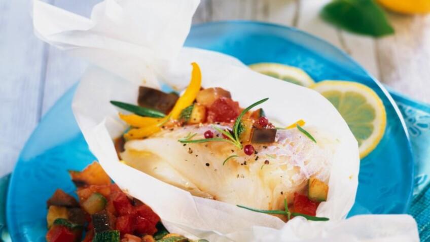 Papillotes : nos recettes rapides et faciles pour manger léger