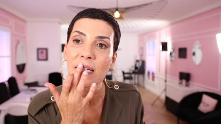 Vidéo : le make-up express de Cristina Cordula