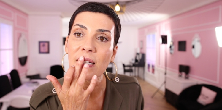 Vidéo : le make-up express de Cristina Cordula