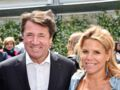 Laura Tenoudji et Christian Estrosi : amoureux et complices, le couple  participe à une course sportive à Nice
