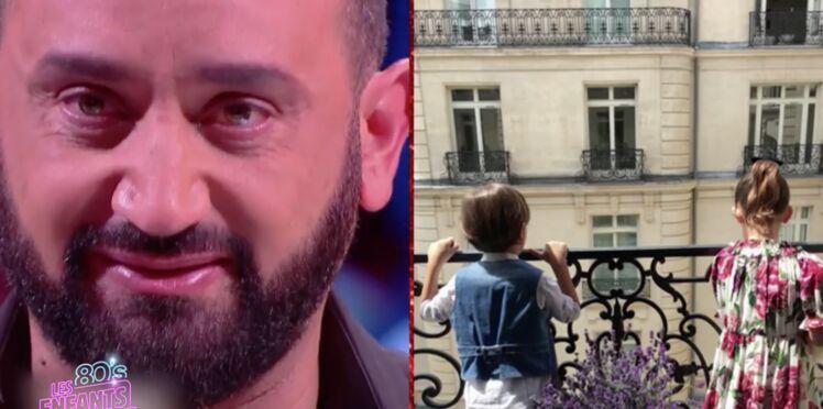 Cyril Hanouna fond en larmes devant une séquence mettant en scène ses enfants, Bianca et Lino