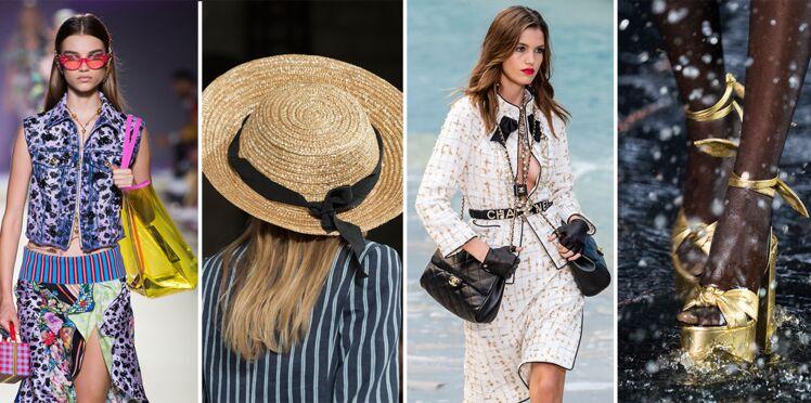 Les tendances accessoires mode printemps-été 2019