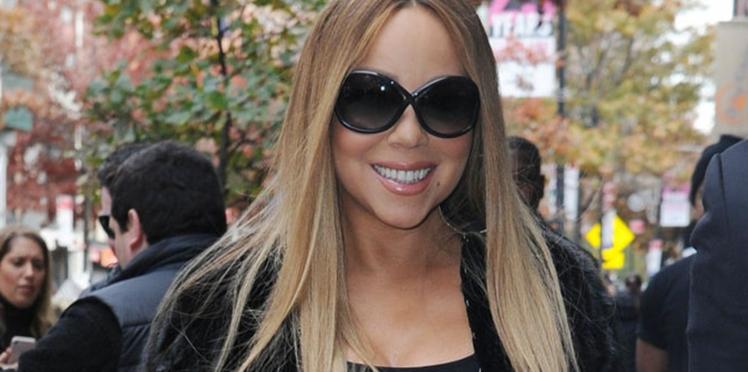 PHOTOS - Mariah Carey, très très amincie, dévoile sa nouvelle silhouette dans un bikini à paillettes