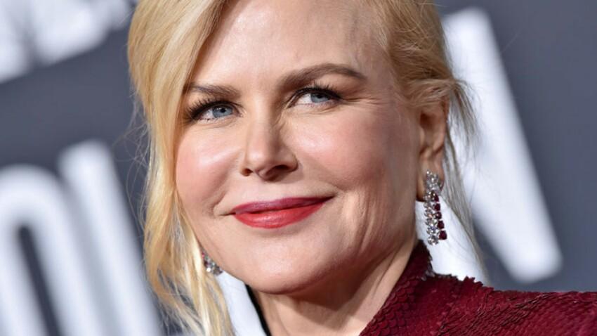Nicole Kidman, 51 ans, too much dans un total look disco