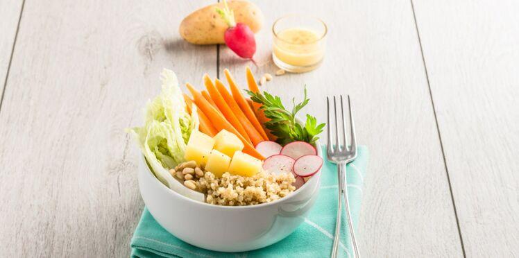 Bowl détox végétarien aux Pompadour Label Rouge