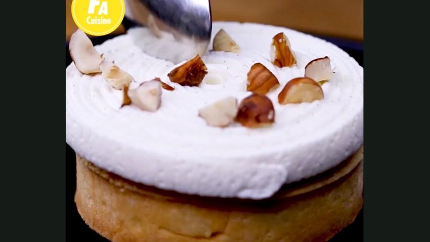 La recette en vidéo de la tartelette amandine