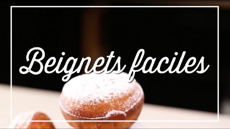Notre recette hyper facile de beignets