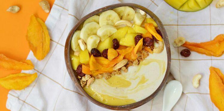 Breakfast bowl à la mangue