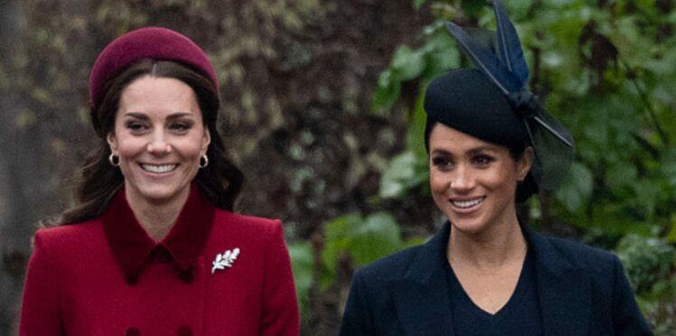 Meghan Markle très affectée par les rumeurs sur sa relation avec Kate Middleton