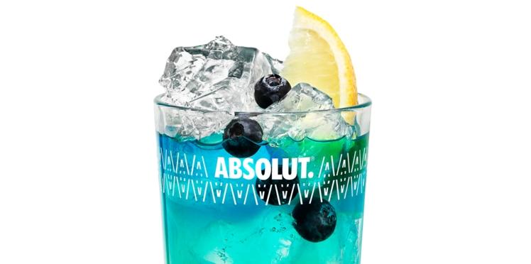 Cocktail Absolut Blueberry Fizz