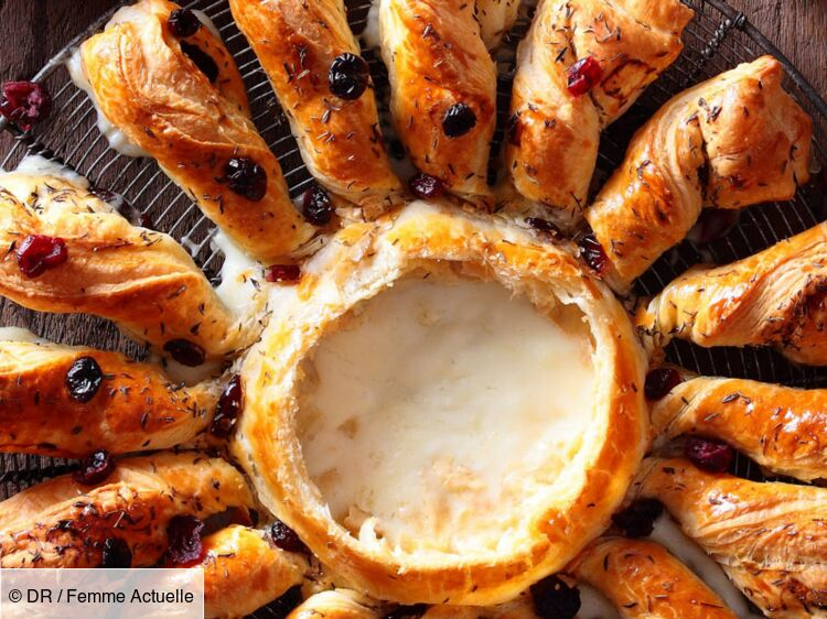 Tarte soleil au chevrotin AOP : découvrez les recettes de cuisine de Femme Actuelle Le MAG