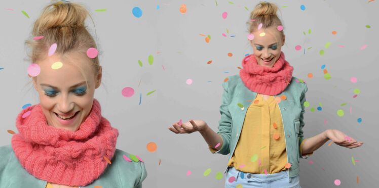 Tricot gratuit : le snood en point fantaisie
